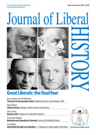 Cover of Journal of Liberal History 56
