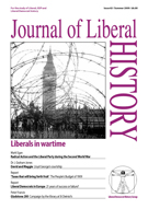 Cover of Journal of Liberal History 63