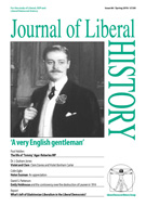 Cover of Journal of Liberal History 66