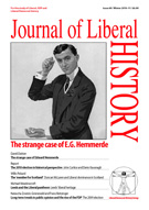 Cover of Journal of Liberal History 69