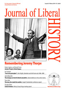 Cover of Journal of Liberal History 85