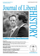 Journal of Liberal History: single issues