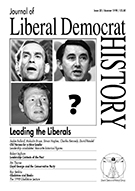 Cover of Journal of Liberal Democrat History 23