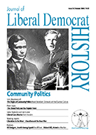 Cover of Journal of Liberal Democrat History 28