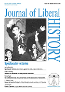 Cover of Journal of Liberal History 44