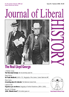 Cover of Journal of Liberal History 51