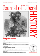 Cover of Journal of Liberal History 81