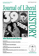 Cover of Journal of Liberal History 82