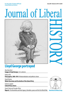 Cover of Journal of Liberal History 84