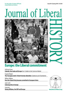 Cover of Journal of Liberal History 98
